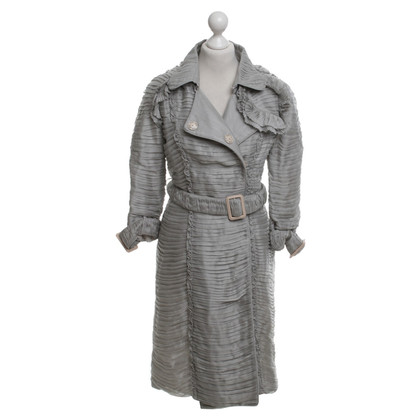 Burberry Prorsum Decorative coat with ruffles
