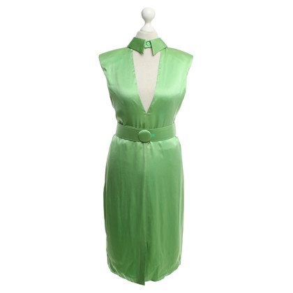 Versace Silk dress in green