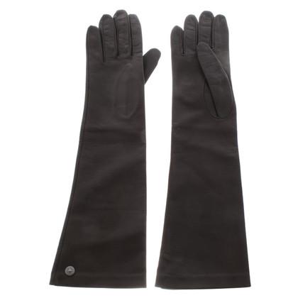 Max Mara lederen handschoenen