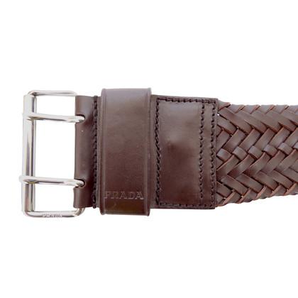 Prada Woven belt