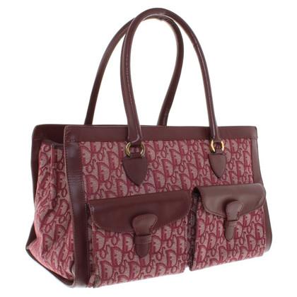 Christian Dior Handtasche mit Monogram-Muster