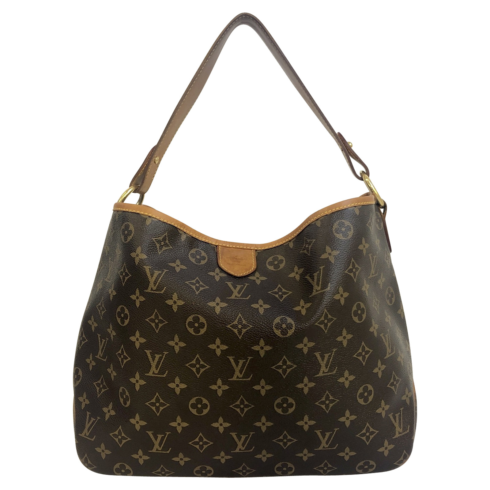Louis Vuitton Delightful Canvas in Brown   Second Hand Louis ...
