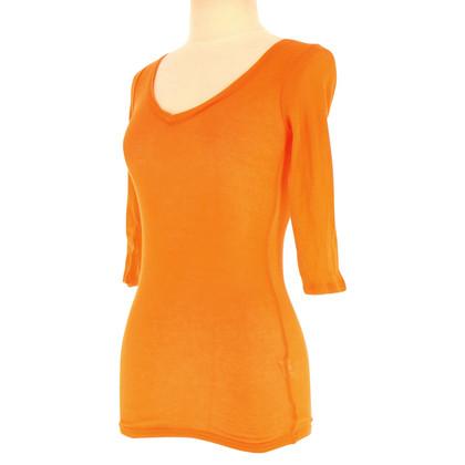 American Vintage Shirt à Orange