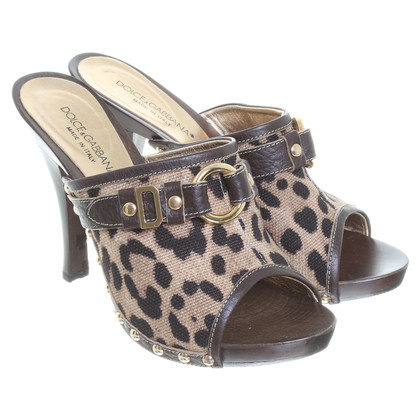 Dolce & Gabbana Clogs with rivets