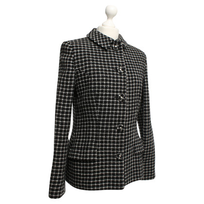 Versace Jacket with check pattern