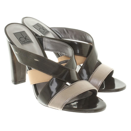 Calvin Klein Sandals in a metallic look