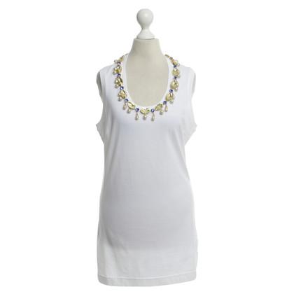 Dolce & Gabbana Shirt with gemstone trim