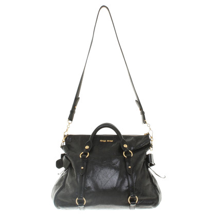 "Miu Miu ""Bow Bag"" in black"