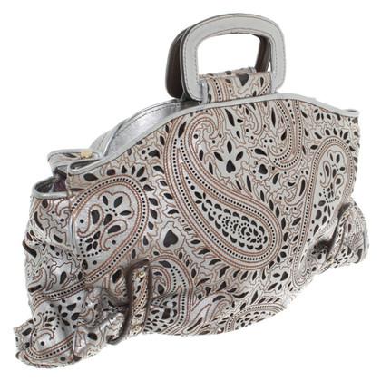 Etro Tasche in Silber