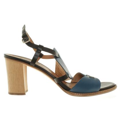 Fratelli Rossetti Sandals in Blauw / zwart