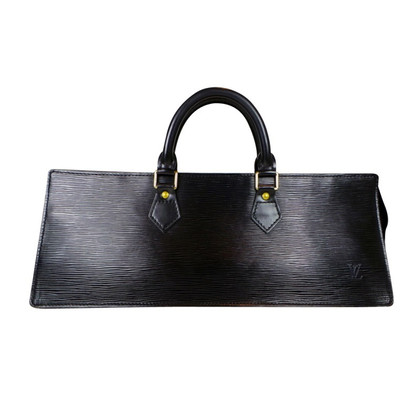 Louis Vuitton Black EPI leather bag