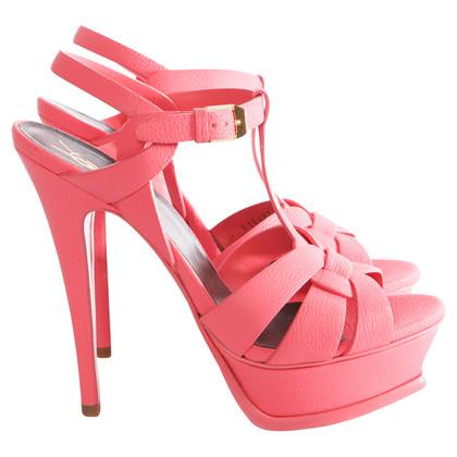 Saint Laurent Sandals in pink