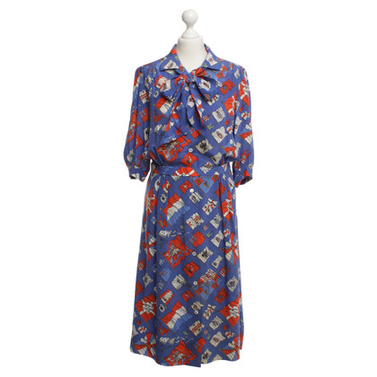 Hermès Silk dress with floral print