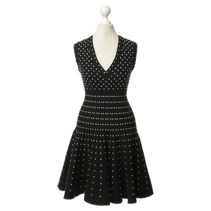 Alaïa Gepunktetes Kleid