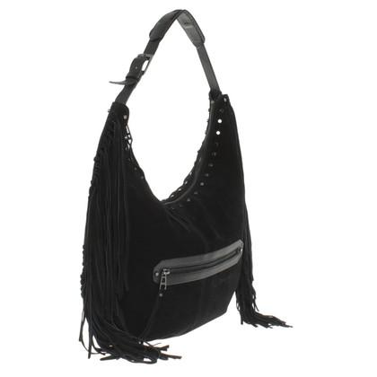 Zadig & Voltaire Suede handbag
