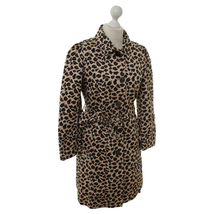 Marc by Marc Jacobs Trench coat with animal print