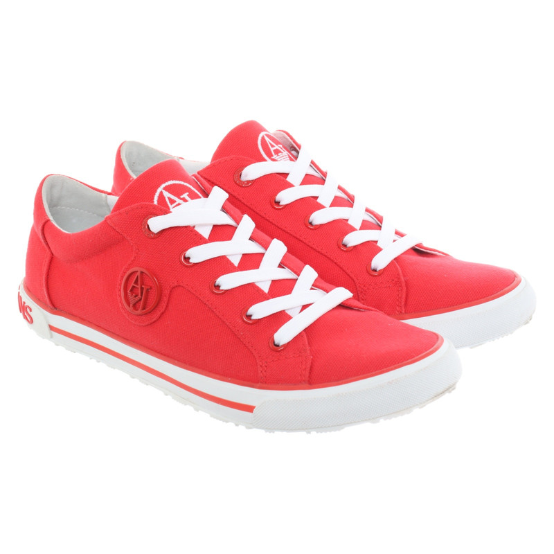 Armani Jeans Trainers Outlet