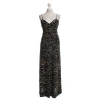 Chanel Seiden-Kleid in Schwarz