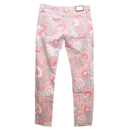 Etro trousers with paisley pattern