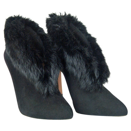 Pura Lopez Ankle boots with fur