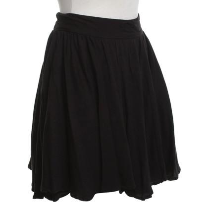 Reiss jupe plissée en noir