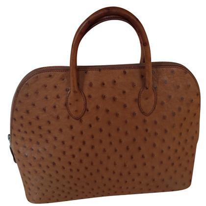 "Hermès ""Bolide Bag"" struisvogelleer"
