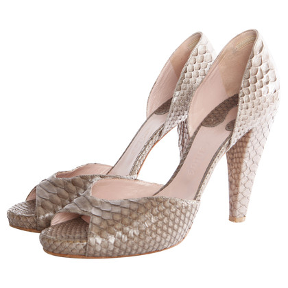 Chloé Peep-Toe Pumps