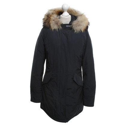 Woolrich Winter jacket in dark blue