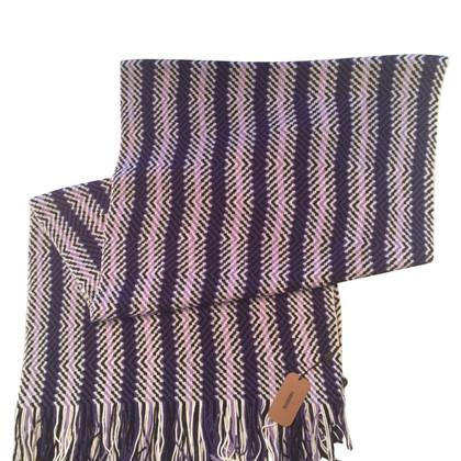 Missoni Sjaal met zigzagpatroon
