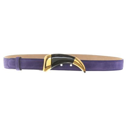 Roberto Cavalli Violet belt