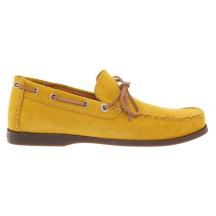 Bally Mocassins en jaune