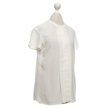 Hugo Boss Short sleeve blouse in white