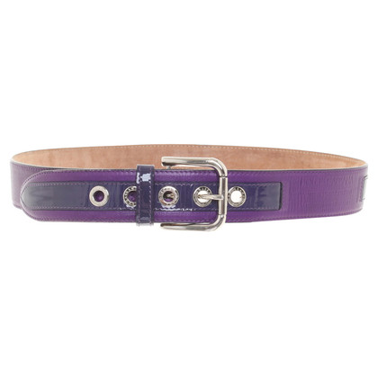 Dolce & Gabbana Belt in purple