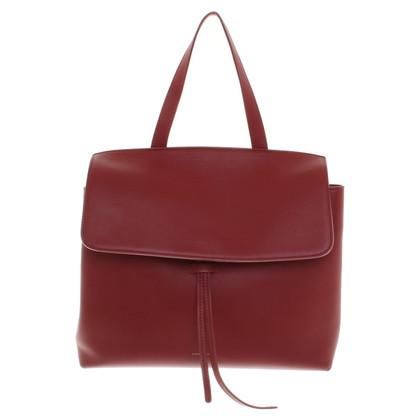 Mansur Gavriel Shoulder bag in red