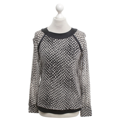 Strenesse Silk blouse with pattern print