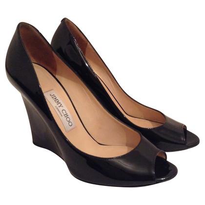 Jimmy Choo Peep-toes in black