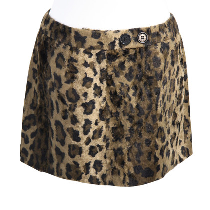 Karen Millen skirt with animal print
