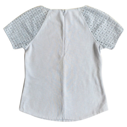 J. Crew top with lace