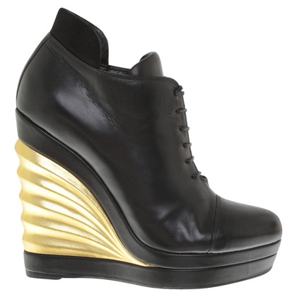 Yves Saint Laurent Pinettes en cuir