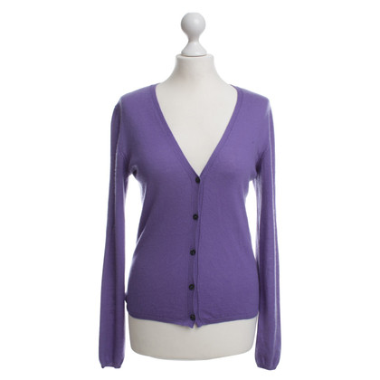 Prada Strickjacke in Violett