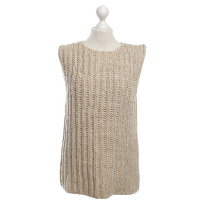 Bottega Veneta Strickpullunder in Beige