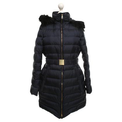 Hugo Boss Down coat with fur trim