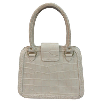 Aigner Henkel bag in crocodile look