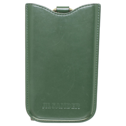 Jil Sander IPhone case in green