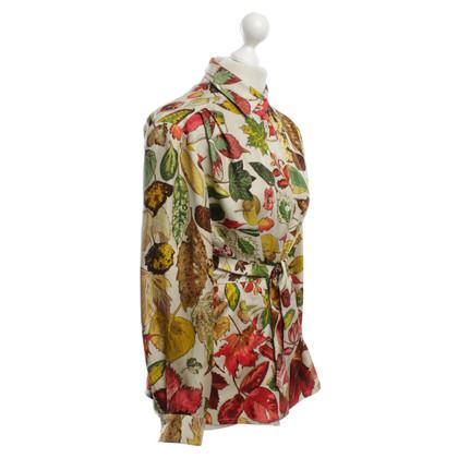 Hermès camicetta di seta