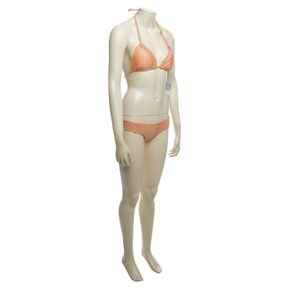 Luli Fama Bikini in albicocca