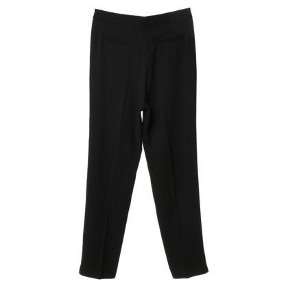 Iro Plooi broek in zwart