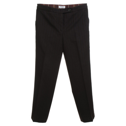 Moschino trousers with pinstripe