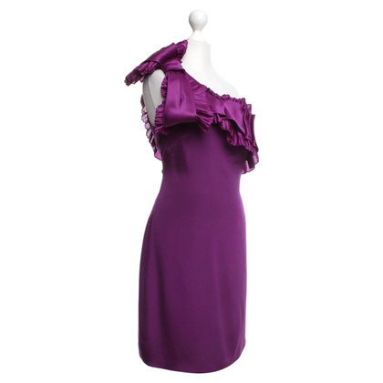 Marchesa vestito da cocktail in viola