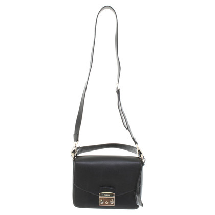 Furla Cross-body Bag in zwart